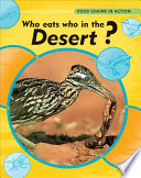 Who Eats Who In The Desert  Book PDF