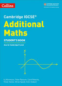 Cambridge IGCSE® Additional Maths