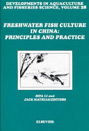 Freshwater Fish Culture in China  Principles and Practice Book