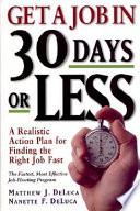 Get A Job In 30 Days Or Less