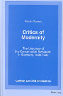 Critics of Modernity