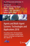 Agents and Multi Agent Systems  Technologies and Applications 2018 Book
