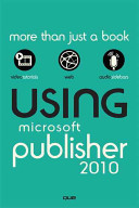 Cover of Using Microsoft Publisher 2010