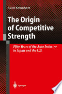The Origin of Competitive Strength
