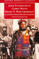 Henry V, War Criminal?