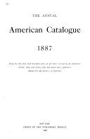 The Annual American Catalogue