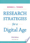 Research Strategies For A Digital Age Book PDF