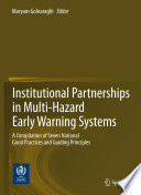 Institutional Partnerships in Multi Hazard Early Warning Systems Book