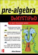 Pre-Algebra Demystified