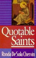 Quotable Saints