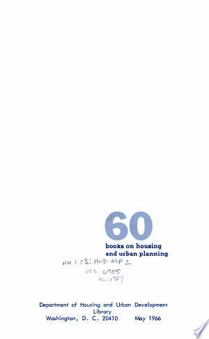 Download 60 Books on Housing and Urban Planning PDF