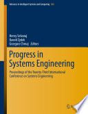Progress in Systems Engineering