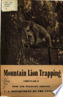 Mountain Lion Trapping
