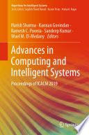 """Advances in Computing and Intelligent Systems: Proceedings of ICACM 2019"" by Harish Sharma, Kannan Govindan, Ramesh C. Poonia, Sandeep Kumar, Wael M. El-Medany"
