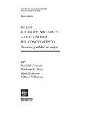 De los recursos naturales a la economía del conocimiento