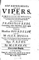 Pdf New Experiments Upon Vipers
