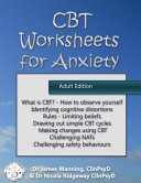 CBT Worksheets for Anxiety  Adult Version