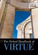 The Oxford Handbook of Virtue Pdf/ePub eBook