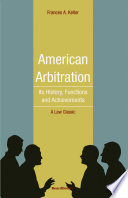 American arbitration its history functions and achievements american arbitration its history functions and achievements fandeluxe Images