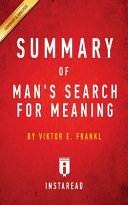 Summary of Man s Search for Meaning