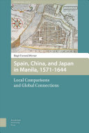Pdf Spain, China and Japan in Manila, 1571-1644
