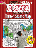 Build a Giant Poster Coloring Book  United States Map