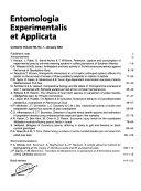 Entomologia Experimentalis Et Applicata Book PDF
