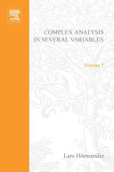 An Introduction to Complex Analysis in Several Variables [Pdf/ePub] eBook