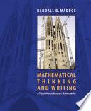 Mathematical Thinking and Writing