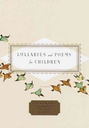 Lullabies and Poems for Children Book