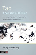 Tao   A New Way of Thinking