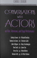 Conversations with Actors on Film  Television  and Stage Performance