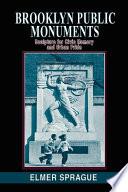 Brooklyn Public Monuments Book
