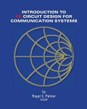 An Introduction to RF Circuit Design for Communication Systems Book