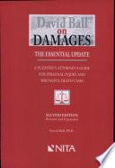 David Ball on Damages Book PDF