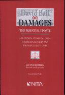 David Ball on Damages