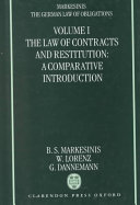 The German Law of Obligations: The law of torts