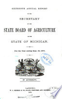 Annual Report of the Secretary of the State Board of Agriculture     and     Annual Report of the Experimental Station     Book PDF