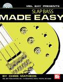 Slap Bass Made Easy