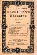 Macmillan's Magazine