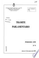Trámite parlamentario