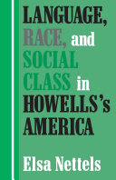 Language, Race, and Social Class in Howells's America [Pdf/ePub] eBook