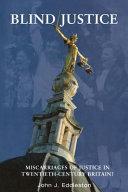 Blind Justice Book