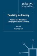Realizing Autonomy Pdf/ePub eBook