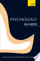 Psychology In A Week Teach Yourself