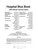 Hospital Blue Book