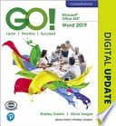 GO! with Microsoft Word 2019 Comprehensive