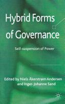 Hybrid Forms of Governance Pdf/ePub eBook
