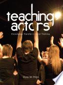 Teaching Actors Book PDF