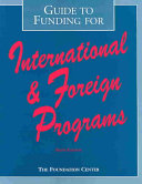 Guide to Funding for International and Foreign Programs